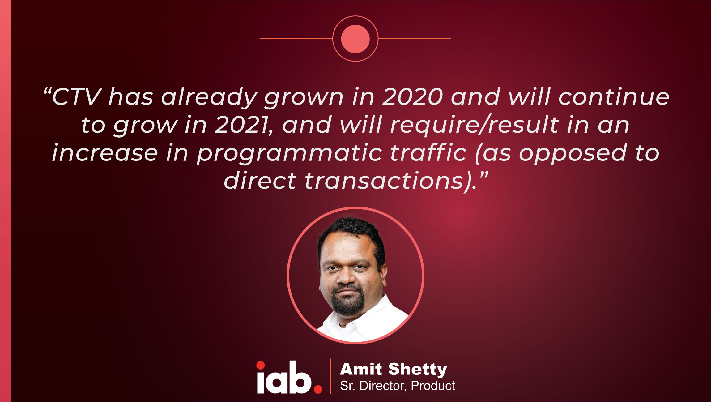 TechBytes with Amit Shetty, Sr. Director, Product at IAB Tech Lab