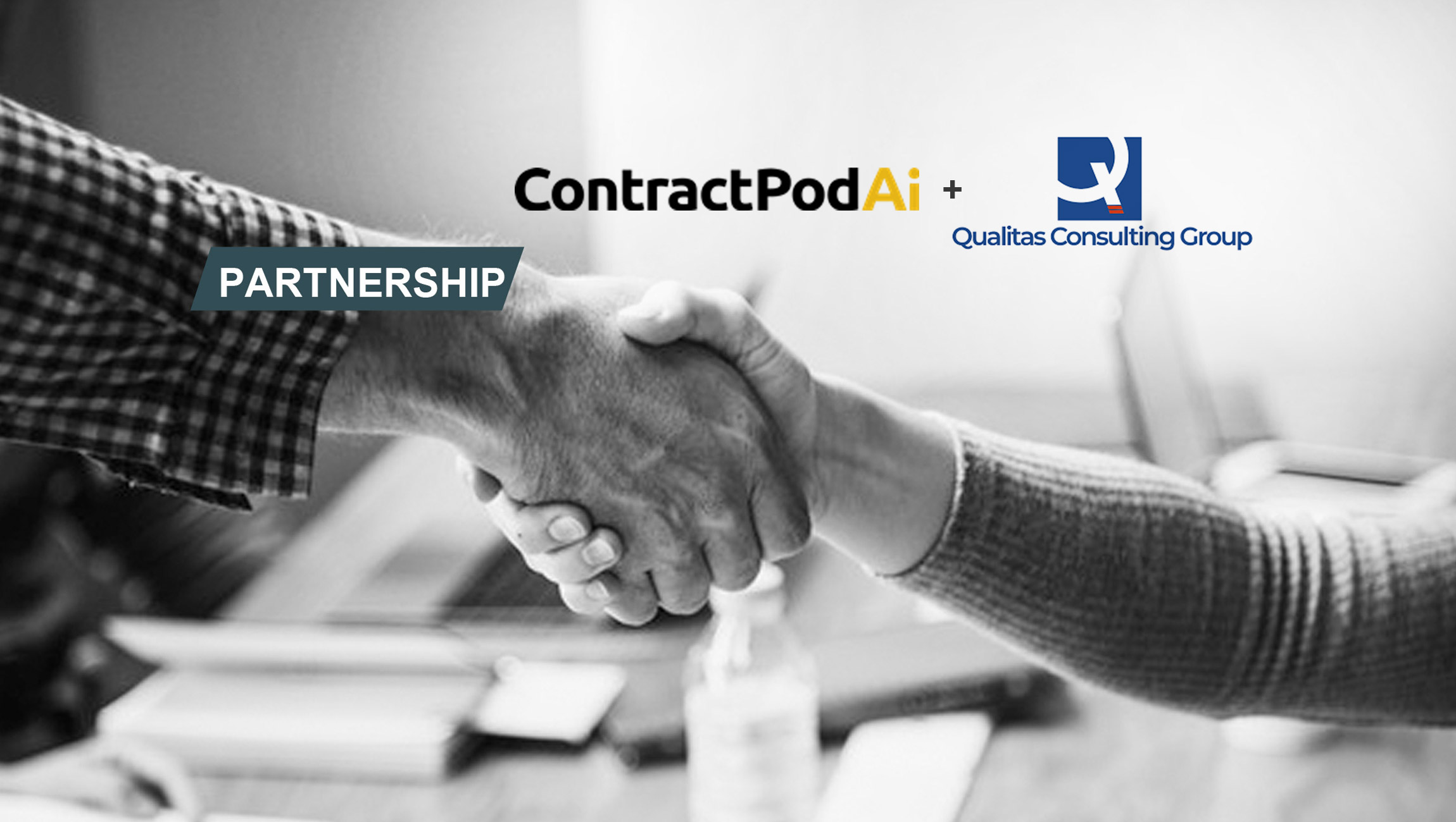 ContractPodAi Partners with Qualitas Consulting Group to Introduce Artificial Intelligence-Powered Contract Management to More Legal Teams