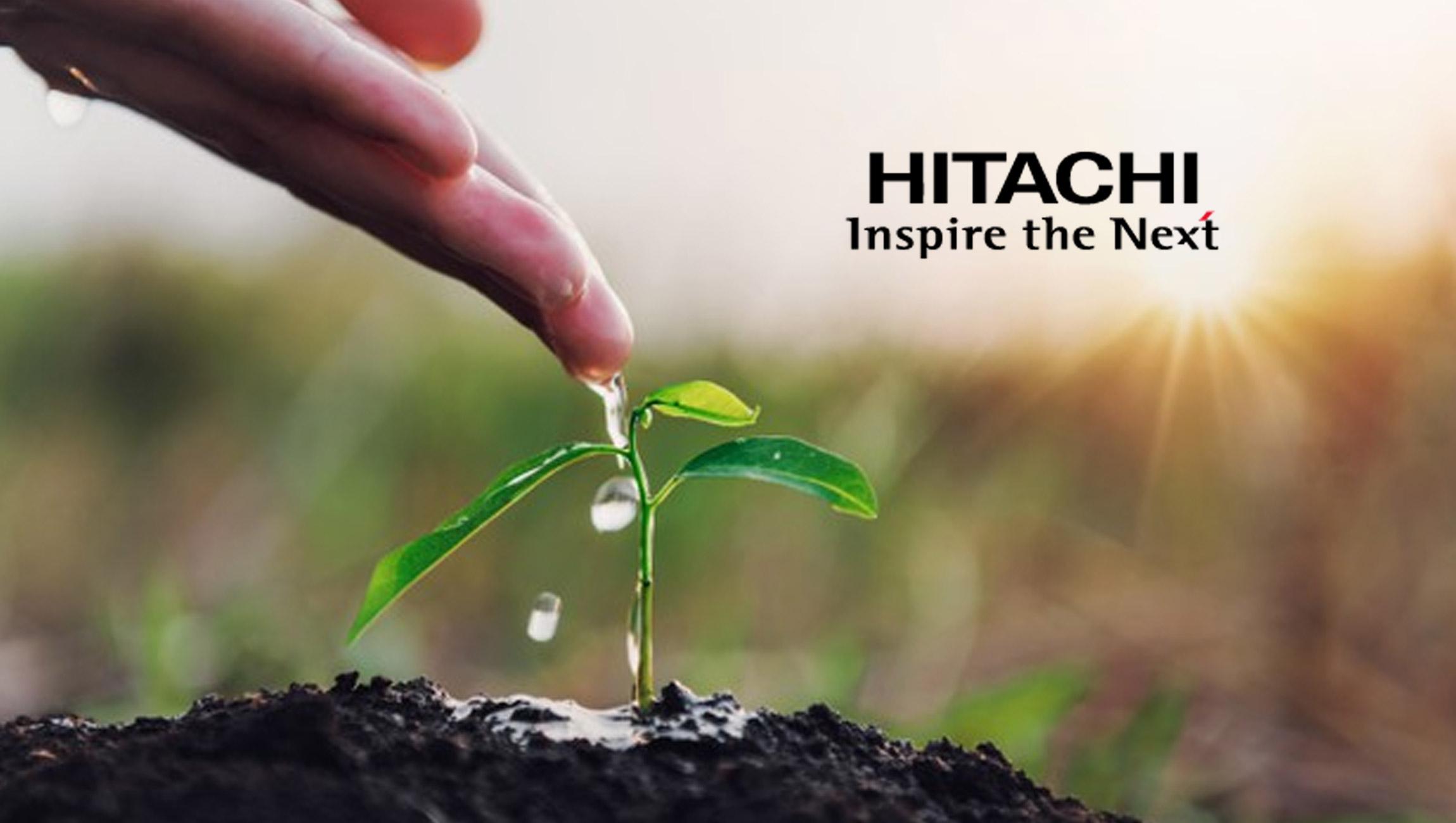 Hitachi Vantara Celebrates Earth Day By Planting 100,000 Trees Around the World With One Tree Planted