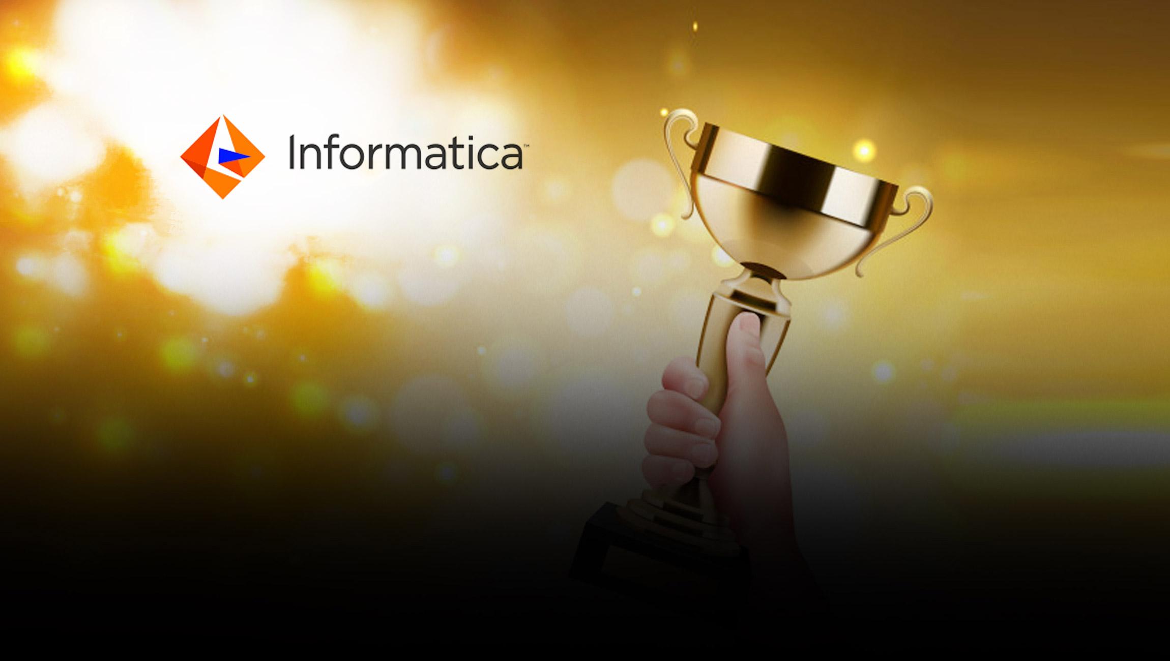 Informatica Honors Intelligent Disruptors in 2021 Innovation Awards