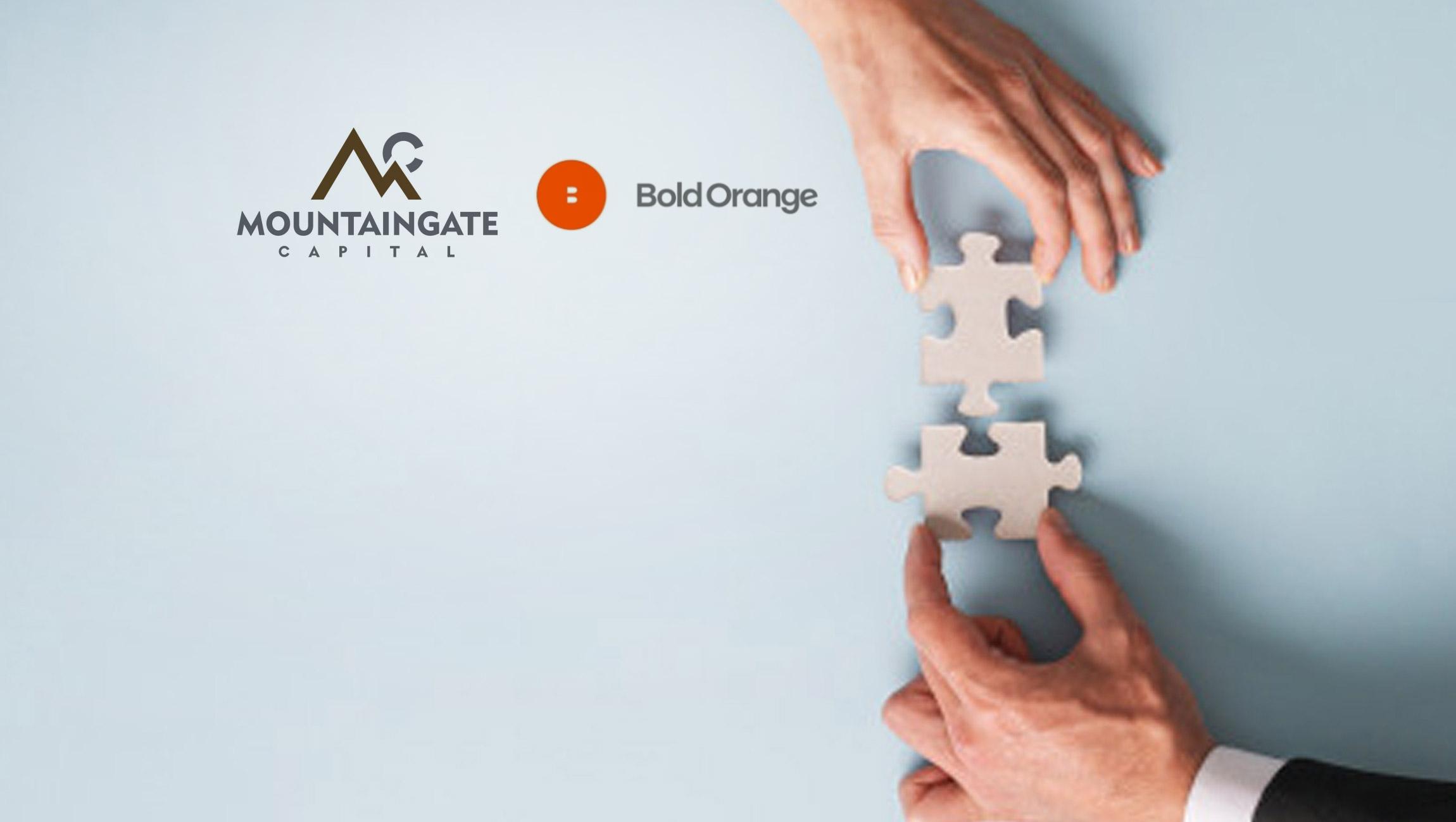 Mountaingate Capital Platform Bold Orange Acquires Customer Experience Agency Three Deep Marketing